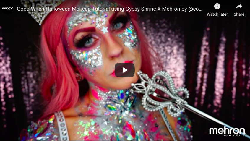 Good Witch Makeup For Halloween   Step By Step Tutorial   Mehron
